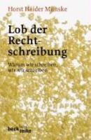 Lob der Rechtschreibung PDF