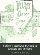 pollard's synthetic method of reading and spelling