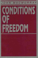 Conditions of Freedom PDF