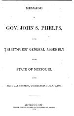 Appendix to the House and Senate Journals of the ... General Assembly of the State of Missouri