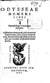 Odysseae Homeri libri XXIV