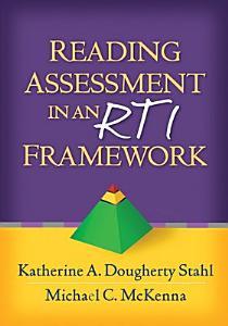 Reading Assessment in an RTI Framework Book