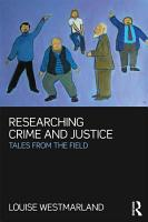 Researching Crime and Justice PDF