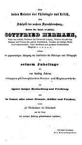 Neue Jahrbücher für Philologie und Paedagogik: Band 31