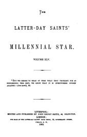 The Latter-Day Saints' Millennial Star: Volume 45
