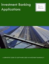 Investment Banking Applications