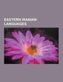 Eastern Iranian Languages
