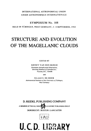 Structure and Evolution of the Magellanic Clouds PDF