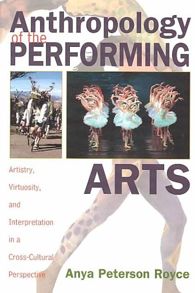 Anthropology of the Performing Arts PDF