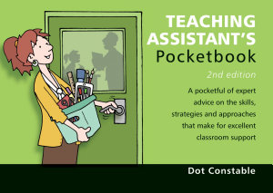 Teaching Assistant s Pocketbook PDF