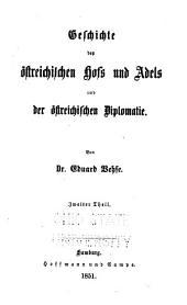 Geschichte der deutschen höfe seit der reformation: Band 8