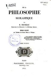 De la philosophie scolastique: (III, 495 p.)- T. 2(525 p.)
