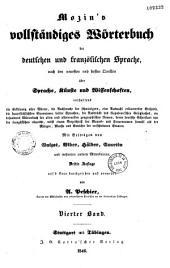 Mozin's Vollstandiges worterbuch der deutschen und franzolischen sprache ...