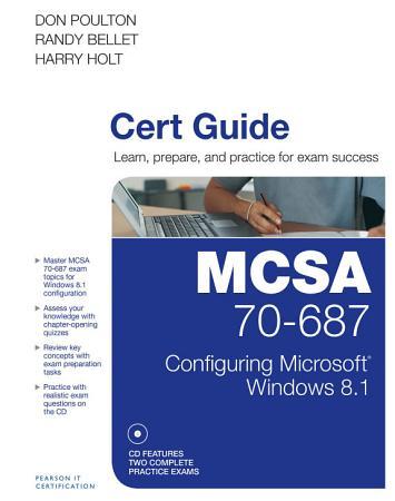 MCSA 70 687 Cert Guide PDF