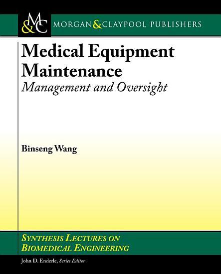 Medical Equipment Maintenance PDF