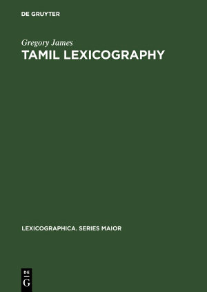 Tamil lexicography