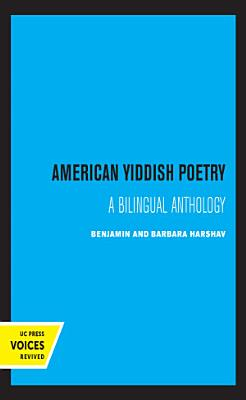American Yiddish Poetry PDF