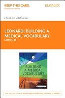 Building a Medical Vocabulary   E Book PDF