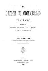 Il Codice di commercio italiano: Volume 7
