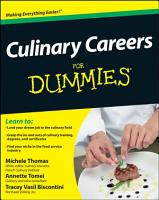 Culinary Careers For Dummies PDF
