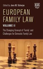 European Family Law Volume II
