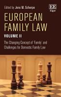 European Family Law Volume II PDF
