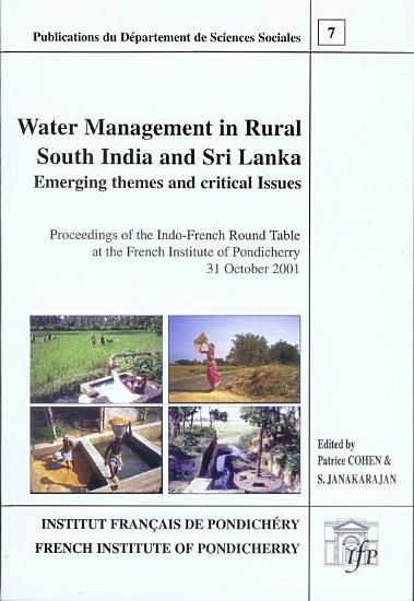 Water management in rural South India and Sri Lanka PDF