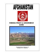 Afghanistan Foreign Policy and Government Guide