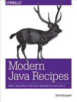 Modern Java Recipes PDF