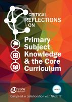 Primary Subject Knowledge and the Core Curriculum PDF