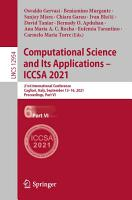 Computational Science and Its Applications     ICCSA 2021 PDF