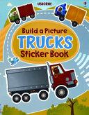Build a Picture Trucks Sticker Book