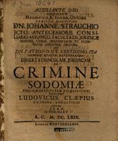 De crimine sodomiae