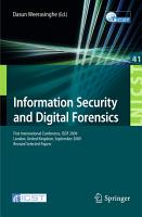 Information Security and Digital Forensics PDF
