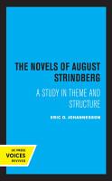 The Novels of August Strindberg PDF