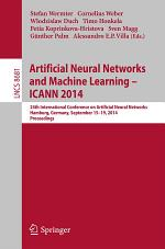Artificial Neural Networks and Machine Learning -- ICANN 2014