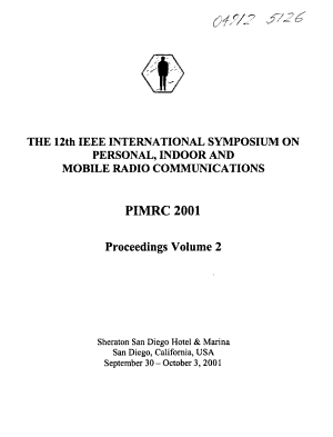 The     IEEE International Symposium on Personal  Indoor  and Mobile Radio Communications
