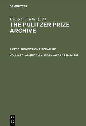 American History Awards 1917–1991