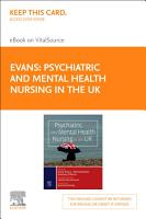 Psychiatric and Mental Health Nursing in the UK  E Book PDF