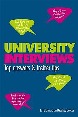 University Interviews PDF