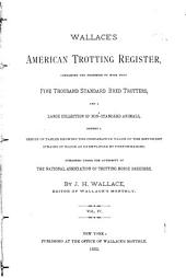 United States Trotting Association Register: Volume 4