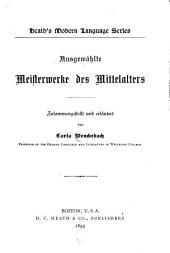 Ausgewählte meisterwerke des mittelalters