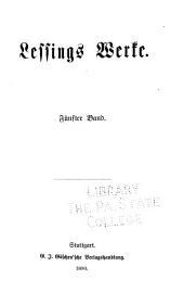 Rezensionen aus der Berlinischen zeitung. Briefe a.d. Schriften 1753. Vade mecum. Rettungen