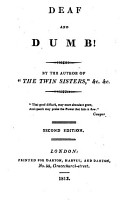 Deaf and dumb  By the author of  The twin sisters   PDF