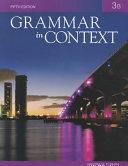 Grammar in Context 3B PDF