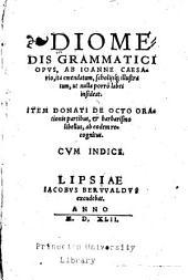 Diomedis grammatici opvs