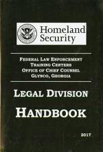 Legal Division Handbook, 2017