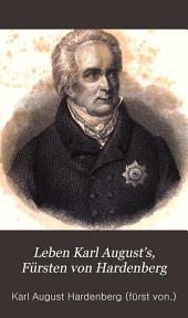 Leben Karl August's, Fürsten von Hardenberg