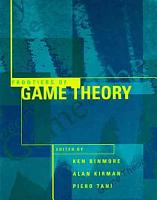 Frontiers of Game Theory PDF