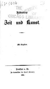 Altdeutsche zeit und kunst ...